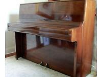 Welmar Mahogany Cross Strung Upright Piano