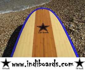 BRAND NEW STAND UP PADDLE BOARD 11'6/10'6/9'6 (HARD BOARD) BLUE RAIL PACKAGE WITH PADDLE/BAG/LEASH