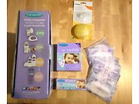 Lansinoh Single breast pump in excellent condition with other essentials