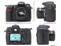 Nikon D300 (Body only) comes in original box and all accessories. Includes 2 batteries & memory card