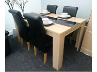 Dining table & 4x chairs..... £100. Near offers considered. Viewing welcome.