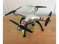 Drone with 8MP camera. SYMA X8G .6 batts & Multi Charger