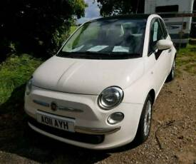 White Fiat 500 Car - For Sale!