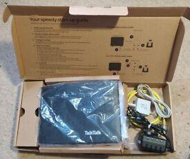 Broadband D-Link DSL-3782 Wireless Super Router TalkTalk Dlink WiFi Boxed