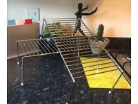 Cabinet Shelf Metal Organiser Rack, set of 2