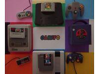 Gamepo Retro Games NES SNES N64 GAMECUBE NINTENDO WII WIIU