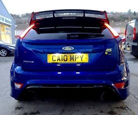 Ford Focus rs 400+ BHP 2010 Colin's performance low miles blue full service