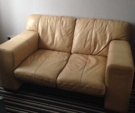 Cream 2 seater sofa for sale