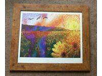 Summer Composition Print by Neill Menneen