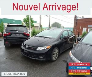 2012 Honda Civic Si+GPS+TOIT+BLUETOOTH+MAG+++