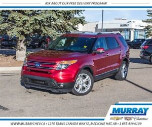2015 Ford Explorer Limited *Leather *NAV *Heated/Cooled Seats