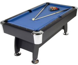 STRIKEWORTH PRO AMERICAN DELUXE 6FT POOL TABLE+TABLE TENNIS TOP+ALL ACCESSORIES