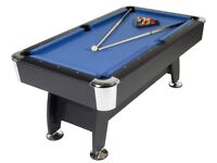 £350!!!STRIKEWORTH PRO AMERICAN DELUXE 6FT POOL TABLE+TABLE TENNIS TOP+ALL ACCESSORIES