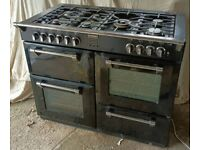 Range with Hood Manufactured by Stoves, Richmond model, 1100mm wide