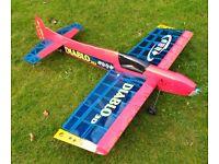 Black Horse Diablo 3d Electric model RC Plane