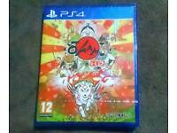 Okami HD PS4 Brand New Sealed - PlayStation 4 Video Game