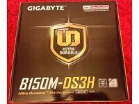 Gigabyte GA-B150M-DS3H B150 Socket LGA 1151 DDR4 Micro ATX Motherboard