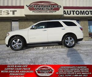 2011 Dodge Durango CITADEL 4X4, 1- OWNER, 7-PASSENGER, LOADED, N