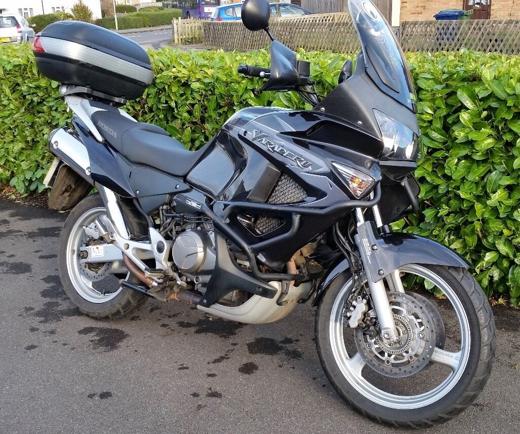 honda xl varadero 1000 2012 full service history 12 months mot lots of accessories in. Black Bedroom Furniture Sets. Home Design Ideas