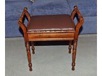 Vintage Piano stool £75 ono