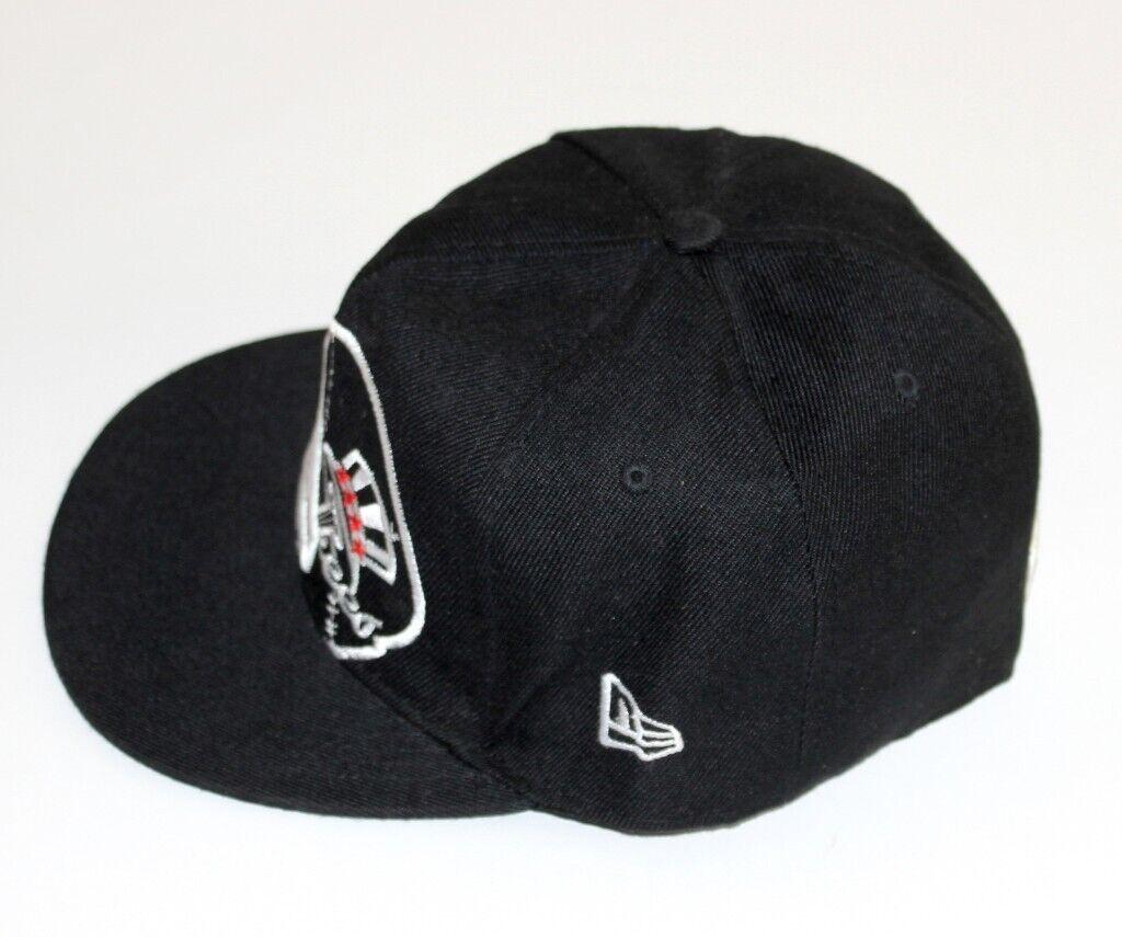 New Era 59Fifty NY New York Yankees Flat Peak Cap Black - 7 3 8 Size - 59cm  - MLB 5ebdeedf40c