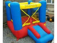 Children's jump king bouncy castle with slide
