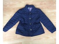 Girls Quilted Coat.