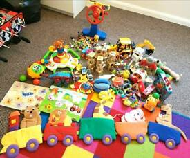 HUGE BUNDLE OF TOYS SUITABLE FROM BIRTH
