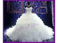 Gypsy style wedding gown
