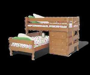 Bunkers Classic Lo-line corner bunk bed Royal Park Charles Sturt Area Preview