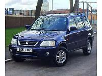 2001 51 Reg Honda CRV ES 2.0 4x4 1 Year MOT Service History Very Good Reliable Runner
