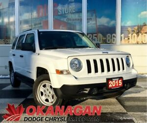 2015 Jeep Patriot SPORT 4X2 AUTO | 1 Owner | Clean Carproof | A/