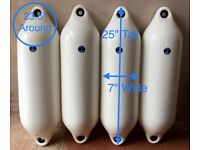 X 4 Anchor Marine top quality boat fenders buoys kayak outriggers Lots for sale on separate listings