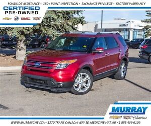 2015 Ford Explorer Limited *Leather *NAV *H/C Seats *Sunroof