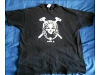 WWE Triple H Medium Size Skull Shirt