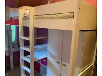 High Sleeper Cabin Bed by Stompa