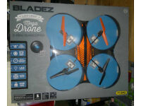 HUGE BLADEZ 2.4Ghz Mega Drone LED Electric Quadcopter with Camera 59cm