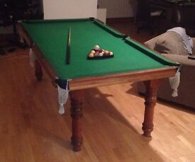 Pool Table ( Slate Bed )