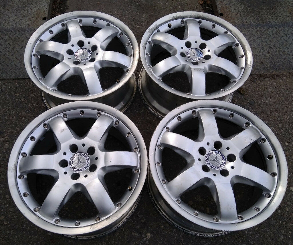 R18 Genuine OEM BBS Mercedes-Benz Alloys * 2 piece splits
