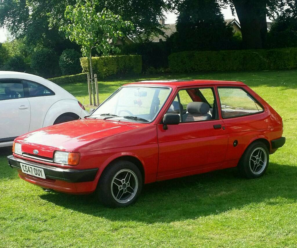 ford fiesta mk2 1 1 classic supersport wheels mk1 mk2 rs xr in alfreton derbyshire gumtree. Black Bedroom Furniture Sets. Home Design Ideas