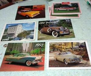 Classic Car Photos Calendars Lincoln Ford Y Mistral Falcon Buick