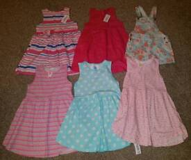 Girls 6-7 years dress bundle - All Brand New