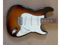 Fender Standard Stratocaster – Seymour Duncan upgraded MIM Strat - Sunburst/Rosewood