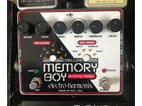 **SOLD** Memory Boy Deluxe Analog Delay - Electro-Harmonix - Tap tempo