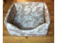 Cozies large desert camo dog bed