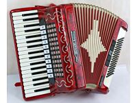 Bugari Armando Accordion - 37 / 96 - 4 Voice Scottish Musette - Top Quality Italian Instrument