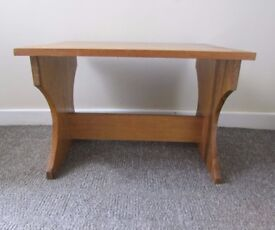 Coffee table vintage style small old school style wooden table FREE DELIVERY