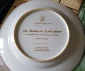 Franklin porzellan plate x 12