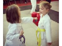 Childrens martial arts class