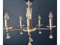 5 light pendant chandelier